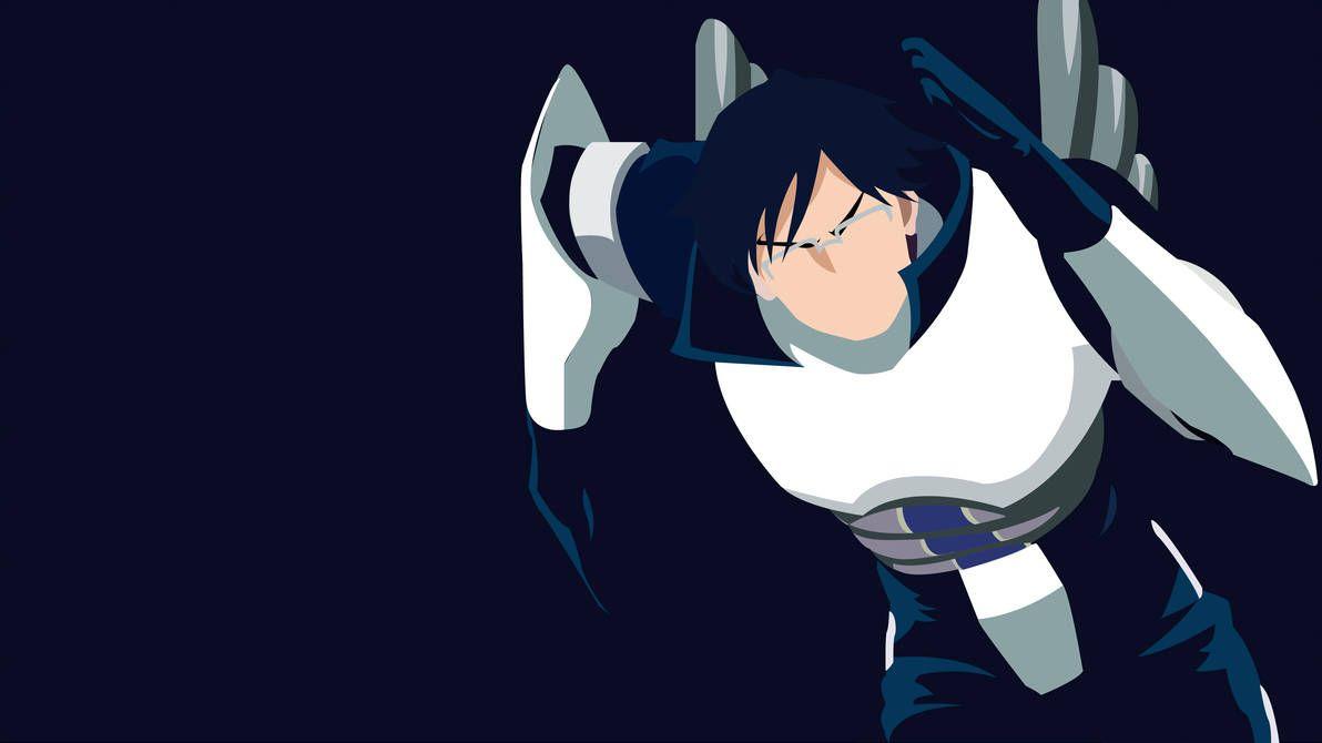 Minimal Tenya Iida Wallpaper By Theztret00 Hero Wallpaper Iida Anime Wallpaper