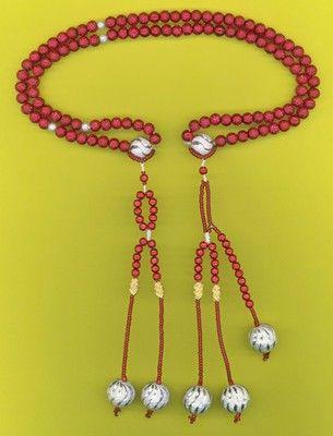 Buddhist Prayer Beads Making Them At Mt Koya