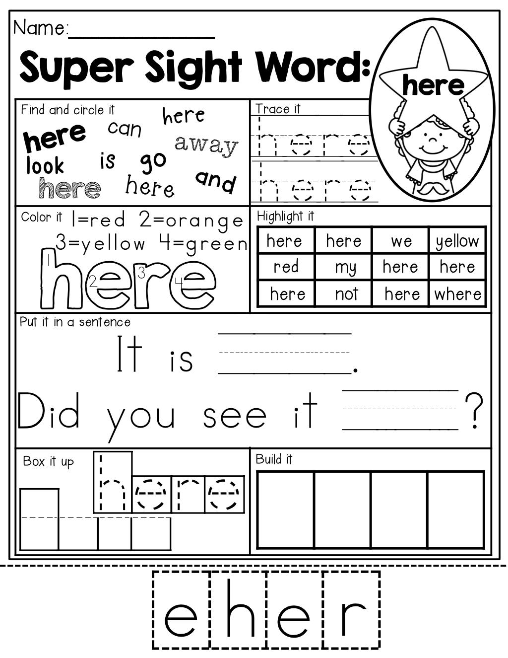 Sight Word Practice 7 Different Ways To Practice Each Sight Word An Effective Way To Prac Sight Words Kindergarten Teaching Sight Words Sight Word Practice [ 1325 x 1024 Pixel ]