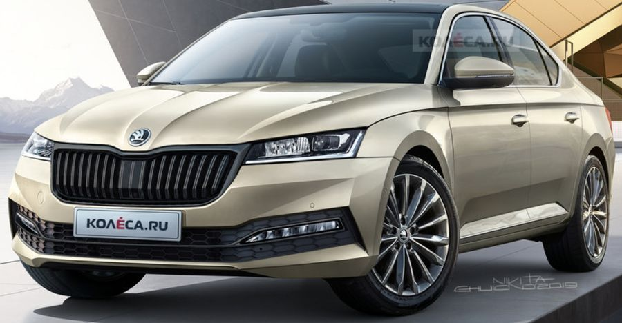 The All New Skoda Octavia Will Be Presented At The 2019 Frankfurt