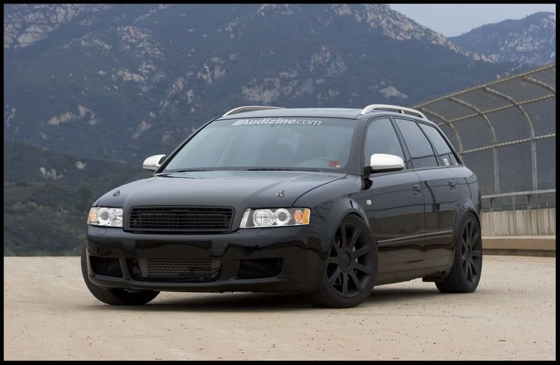 Audi A4 Wagon Blacked Out | Audi & Vdub | Pinterest | Murdered out ...