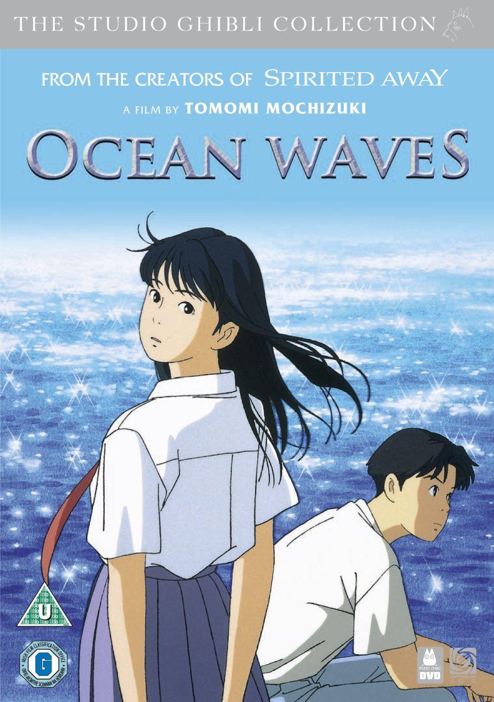 Ocean waves miyazaki movie studio ghibli studio