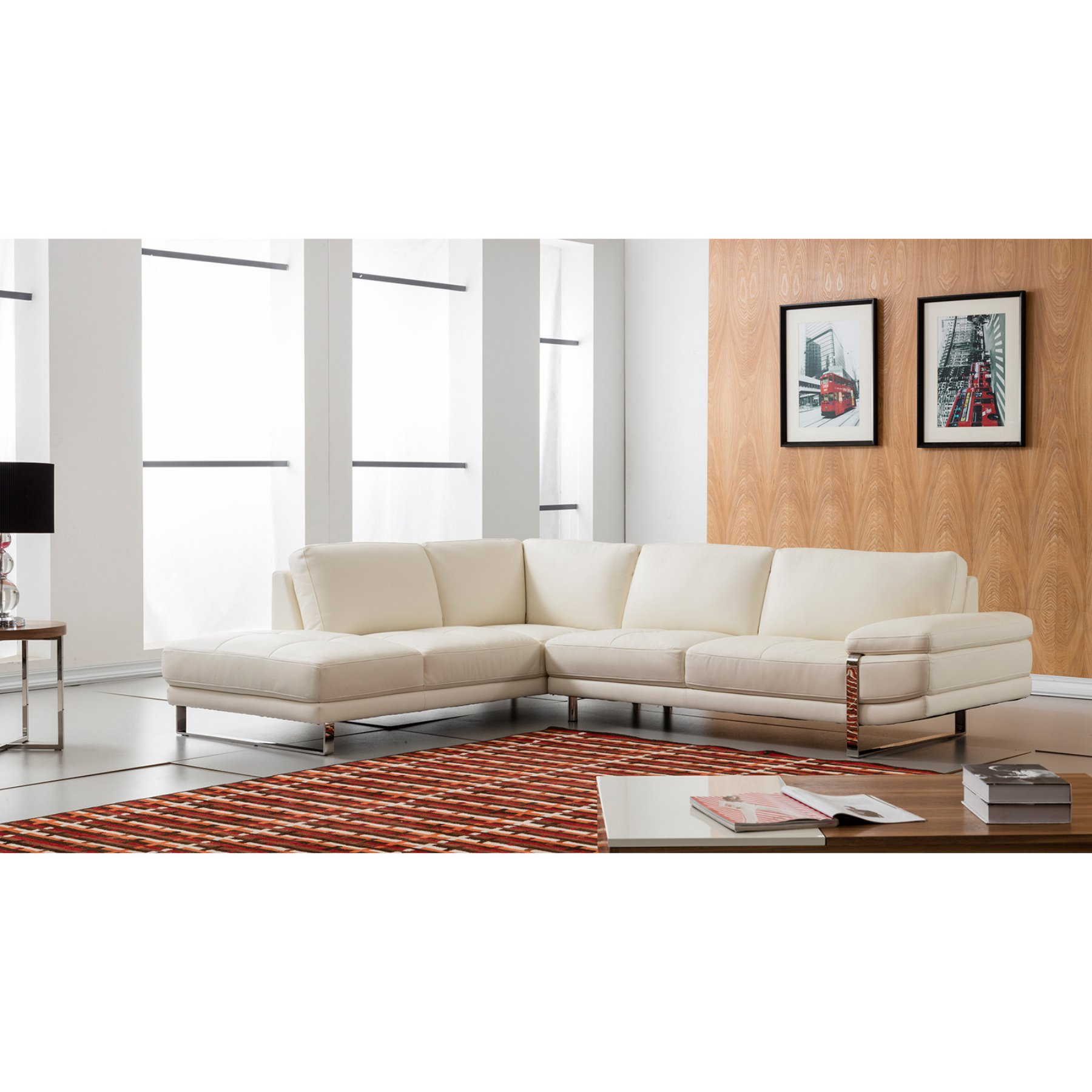 american eagle furniture chelsea white italian leather sectional rh pinterest com