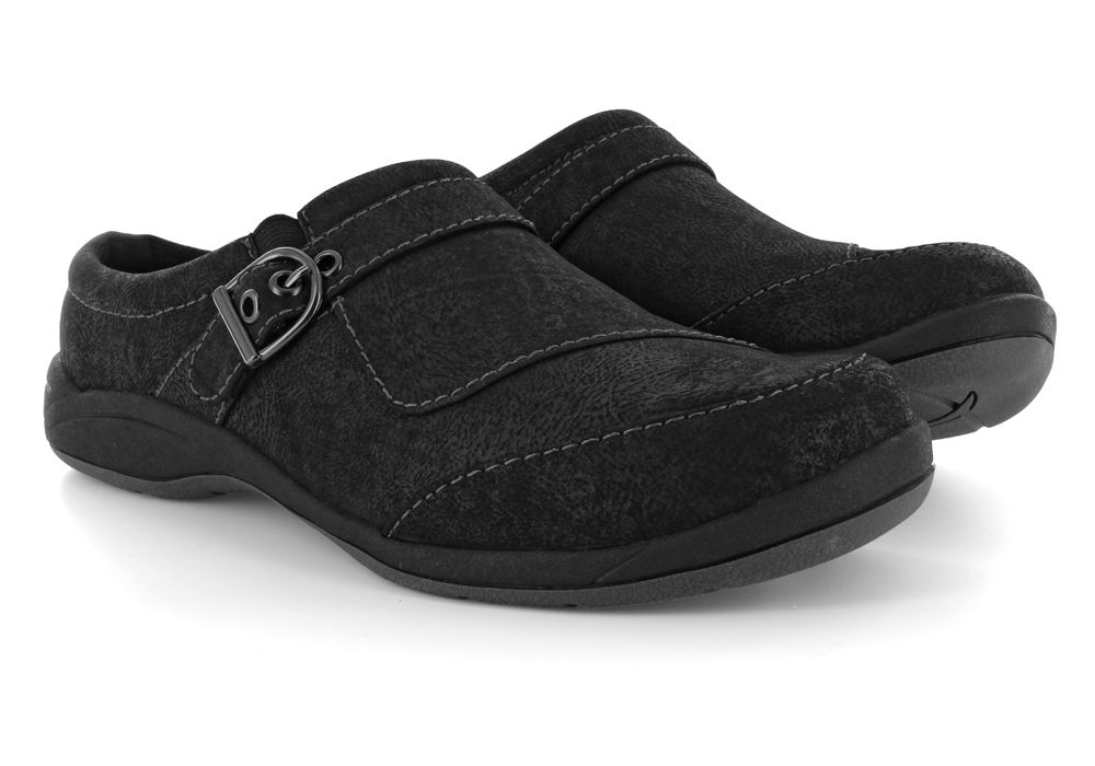 Womens Easy Street Comet Clog Black