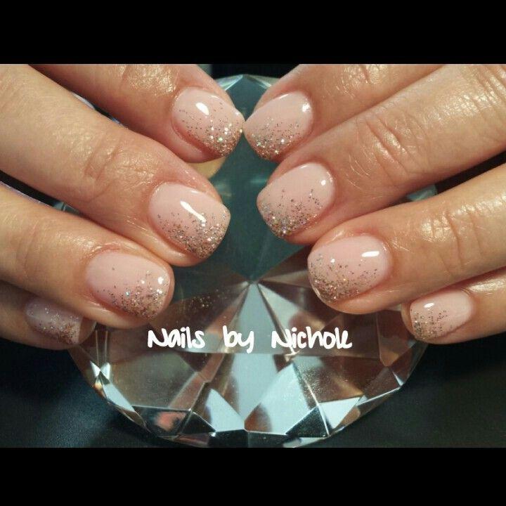 Wedding Nails Light Elegance Hard Gel Nails Instagram Styleandgracesalon Facebook Gel Nails By Nichole Hard Gel Nails Gel Overlay Nails Sassy Nails