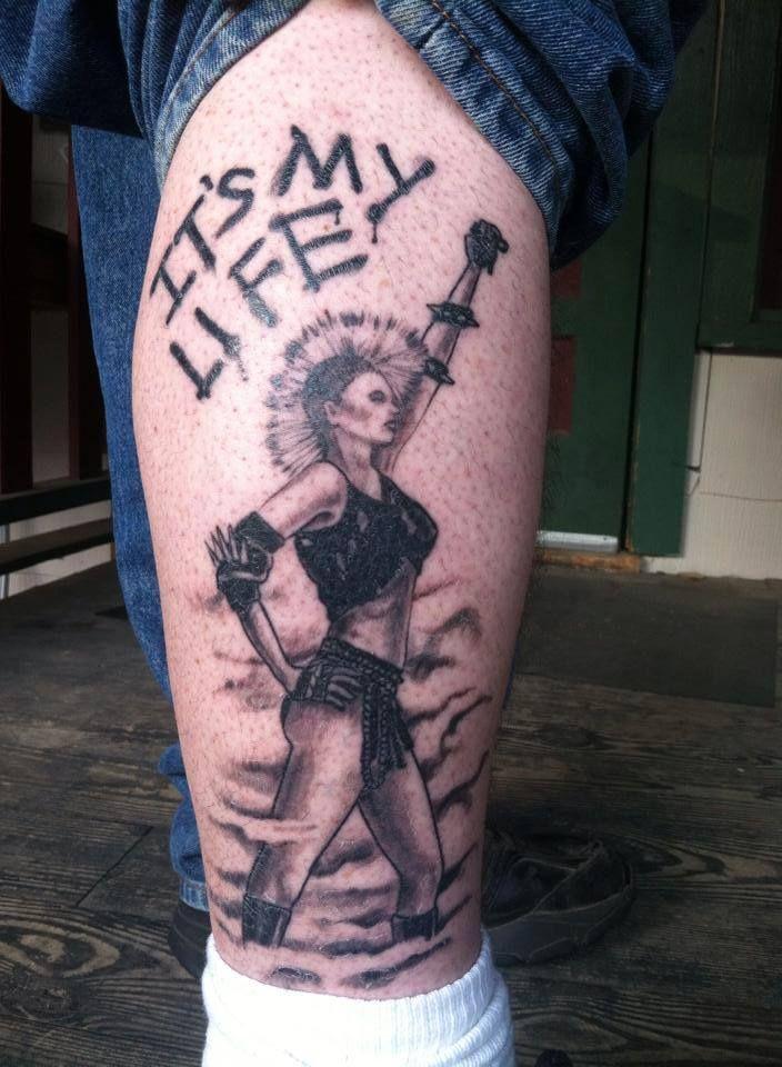 Wendy O Williams Tatuajes Calaveras