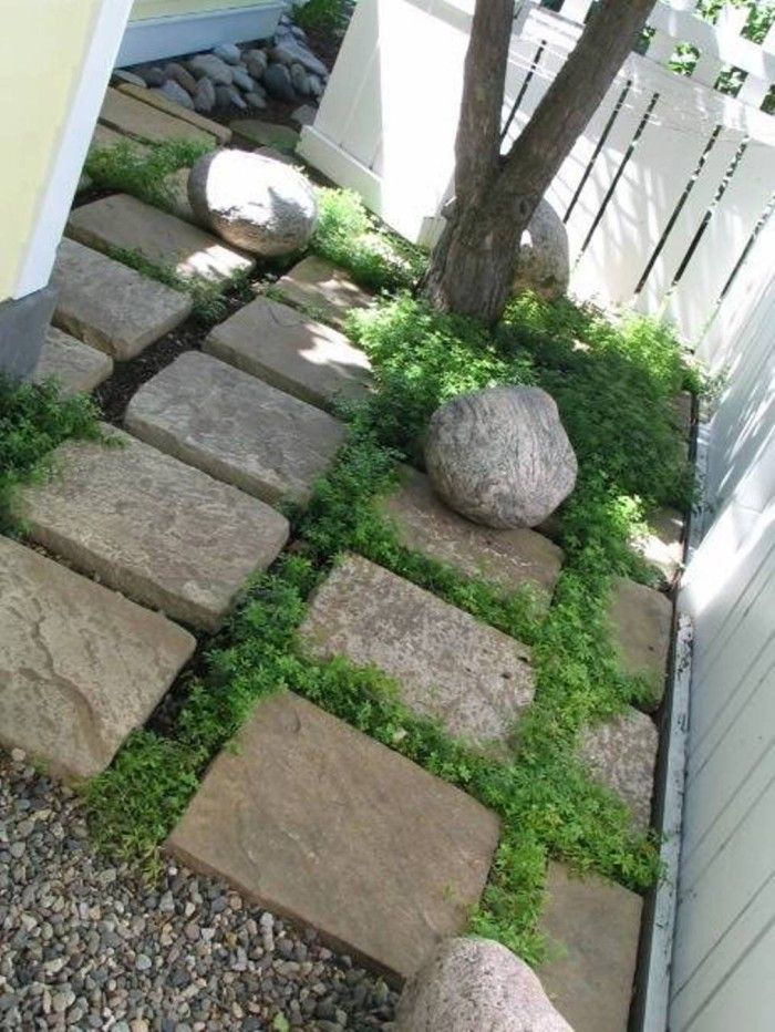 Perfect Square Beautiful Garden Stepping Stones , Beautiful Garden Stepping Stones  In Garden And Lawn Category