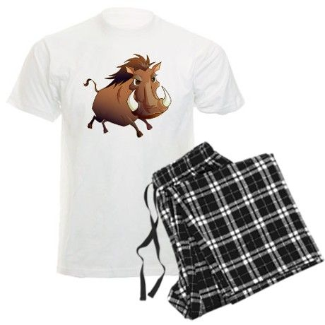 0350299827 Wild Boar Pajamas on CafePress.com - my Dad needs these