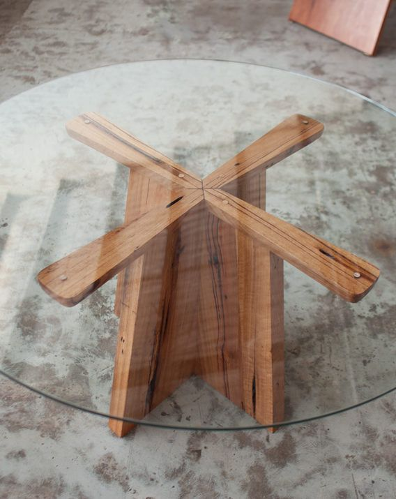 top furniture makers. YARD Furniture Makers, Melbourne Australia. Seen Here Is The Glass Top Propellor Table, Made From Recycled And Locally Salvaged Yellow Stringybark Timber. Makers B