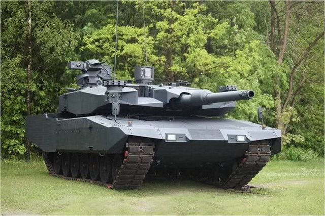 23c1bf4a7580 The MBT Revolution is a modular upgrade package to the Leopard 2A4 main  battle tanks. It was developed by Rheinmetall. This MBT was first revealed  in 2010.