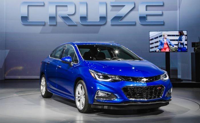 2016 Chevrolet Cruze Release Date