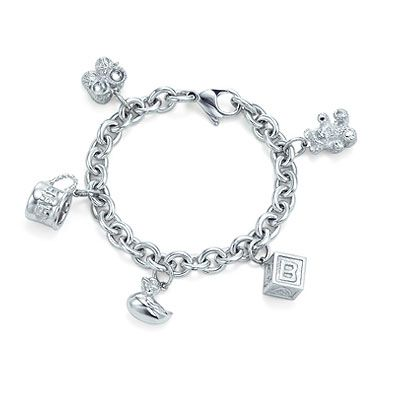 1af764e4c Tiffany baby charm bracelet | what to wear (kids) in 2019 | Baby ...