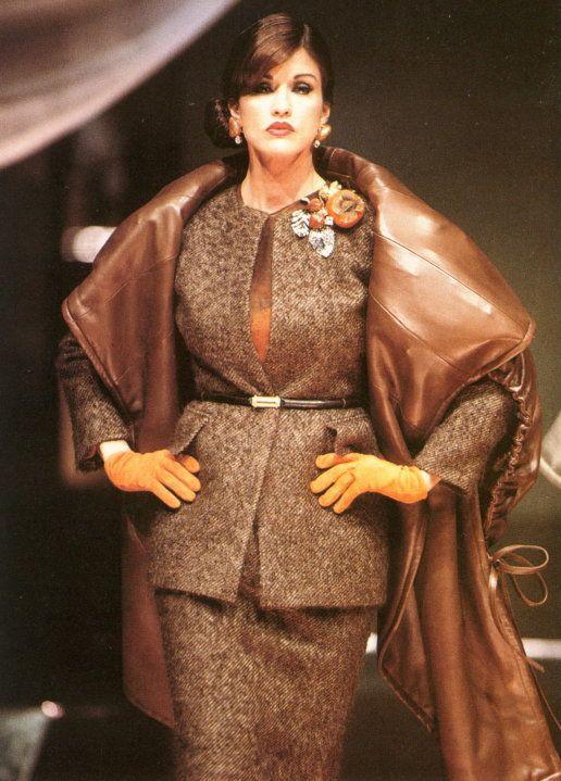 Janice Dickinson, Christian Dior Haute Couture