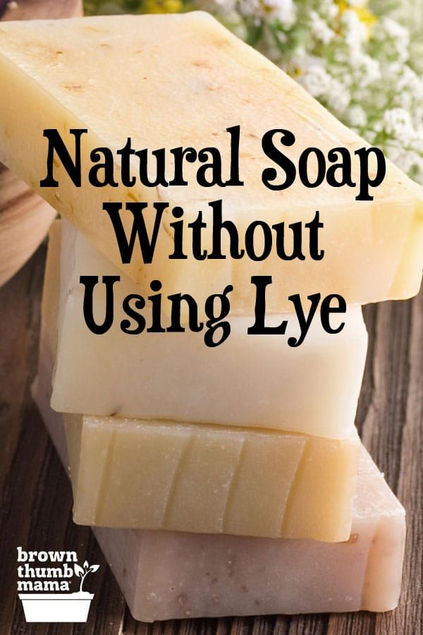 Make Soap Without Using Lye #diysoap
