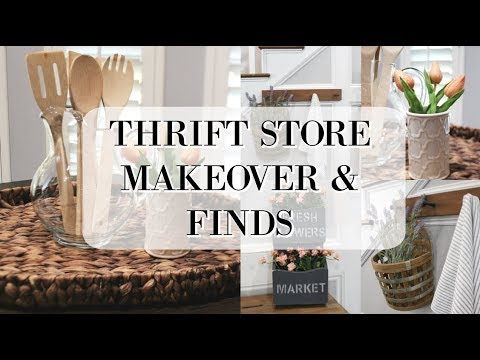 (20) THRIFT STORE MAKEOVER | THRIFT STORE FINDS - YouTube #thriftstorefinds