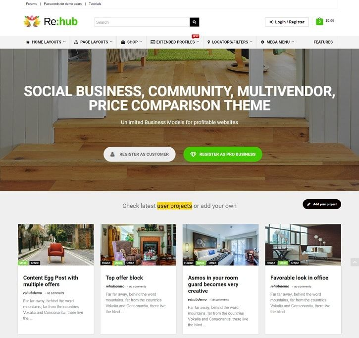 rehub affiliate marketing wordpress themes | WordPress Themes ...
