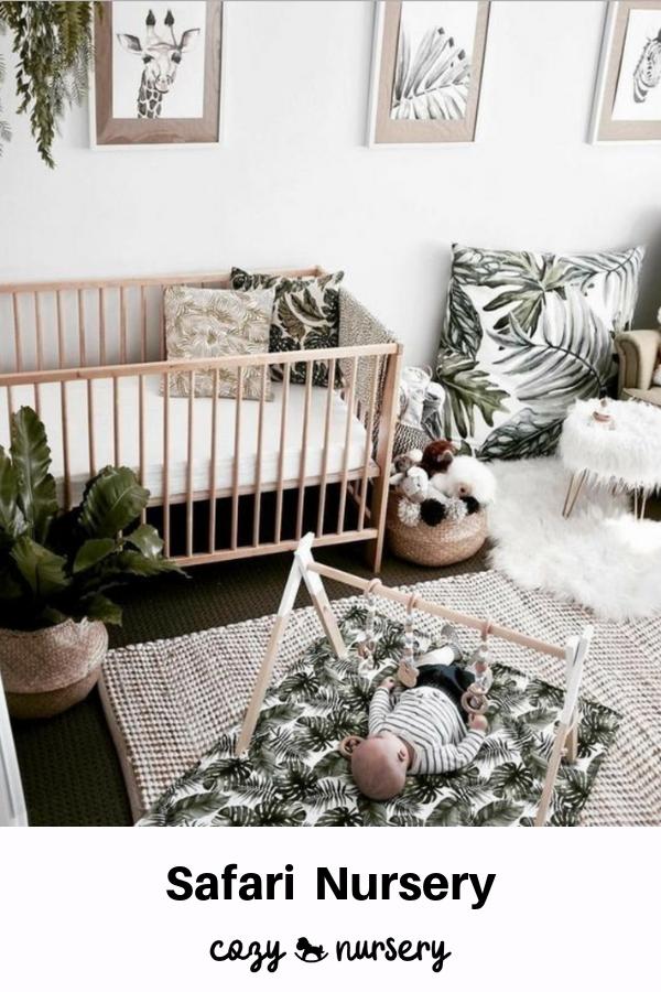 The Jungle Theme Nursery Baby Room Themes Baby Room Neutral Jungle Theme Nursery