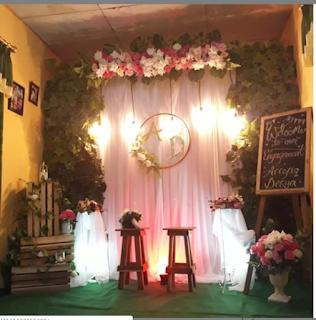 Backdrop Lamaran & Nikahan: SEWA!!! Backdrop Lamaran Sederhana CILACAP NO  TLP/WA 085819017492 | Lamaran Pernikahan, Buku Tamu Pernikahan, Sederhana