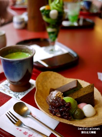 【京都。食】開車去京都~吃了「高台寺限定的都路里抹茶甜點」&「ジュヴァンセルの京洋菓子
