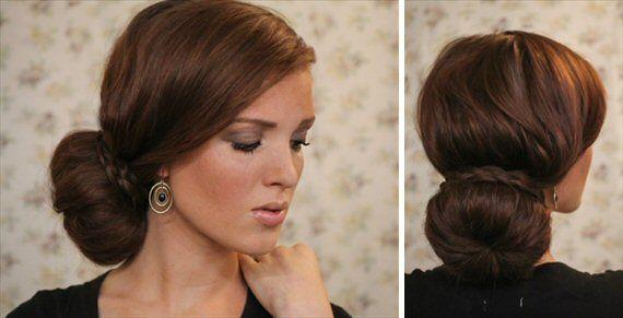 DIY Braided Bun Hairstyle #braidedbuns