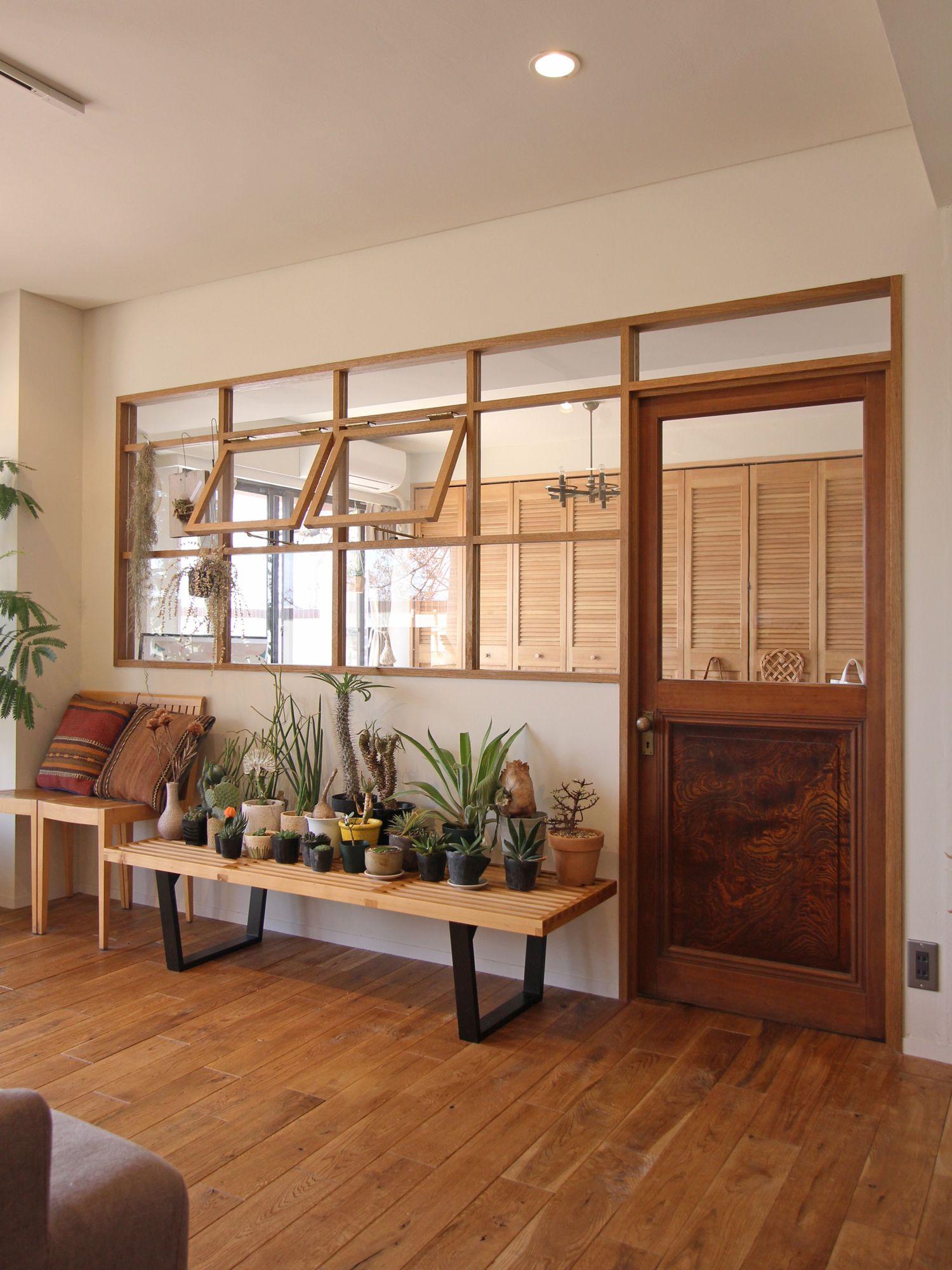 une verri re avec fen tres battants v randa et. Black Bedroom Furniture Sets. Home Design Ideas
