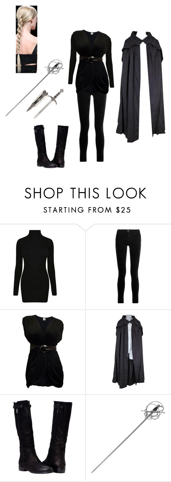 """""""The Darkness Within"""" by snowywolf ❤ liked on Polyvore featuring Helmut Lang, J Brand, Whetstone Cutlery and CO"""