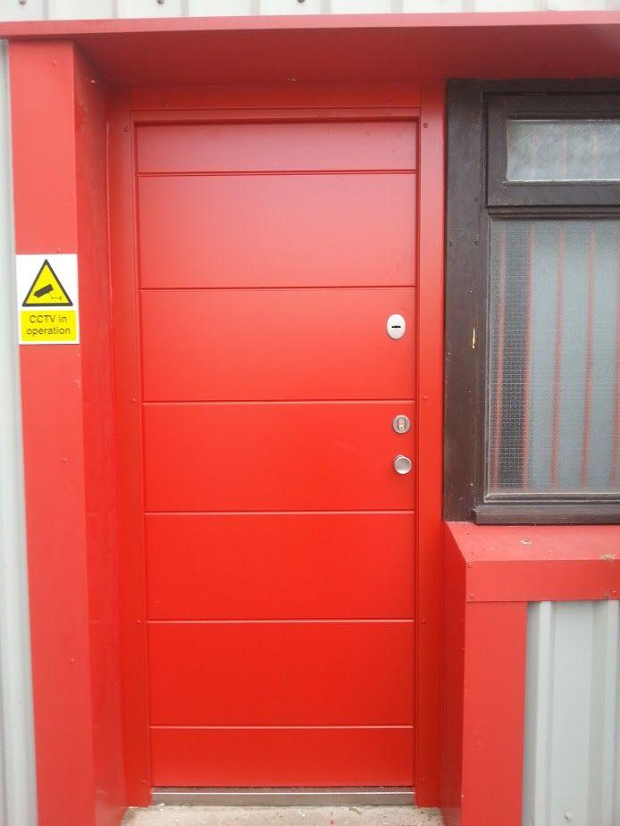 Fire Exit Security Door   Royal doors, Security door, Upvc ...