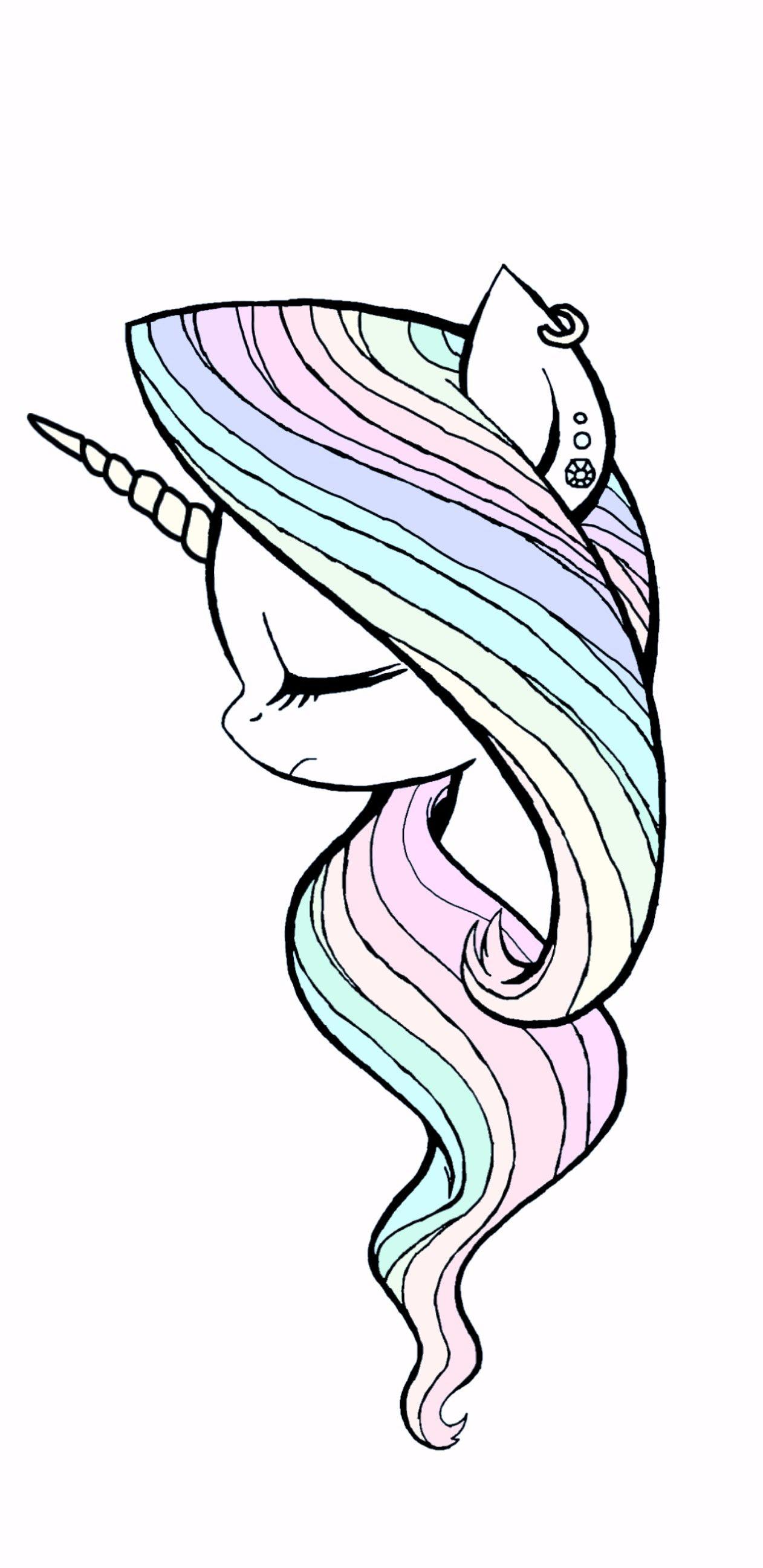 Pin Di Giulia Su Disegni Kawaii Unicorn Unicorn Art E Unicorn Drawing