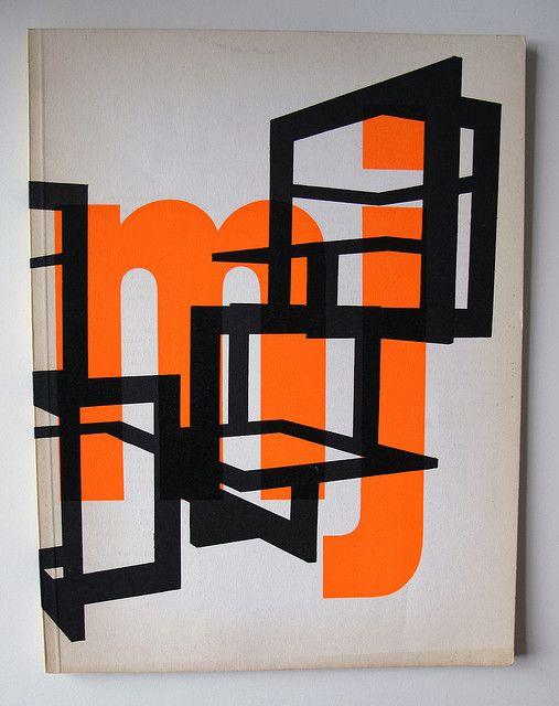Museumjournaal, design Jurriaan Schrofer / 1966 and 1967