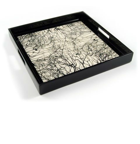 Black Decorative Tray Endearing Black Tray  Black Trays  Black Wood Tray  Black Wood Trays Inspiration