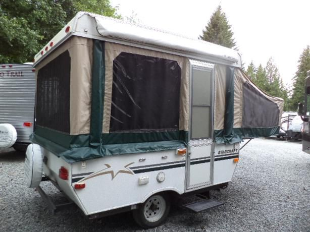 Used 2004 Starcraft Centennial 3606 Folding Pop Up Camper At