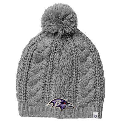 55870257 47 Brand Baltimore Ravens Ladies Kiowa Knit Hat – Gray | Channukah ...
