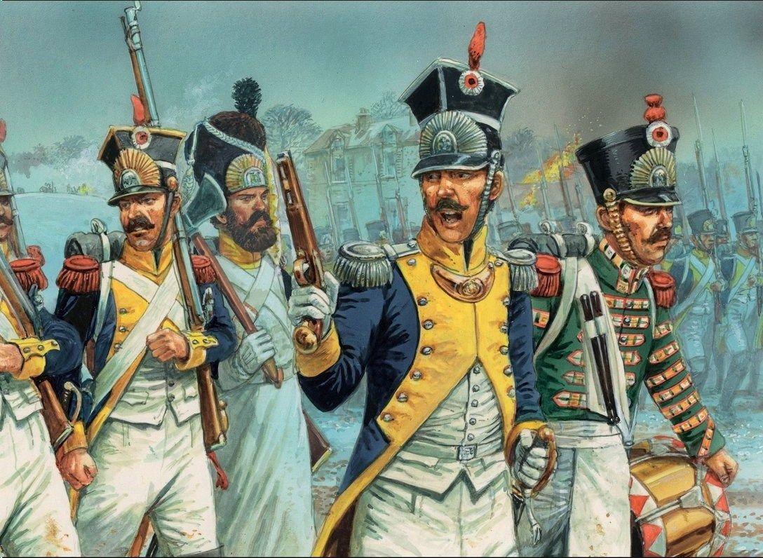 La Legión del Vístula, polacos al servicio del Emperador, por cortesía de Peter Dennis.
