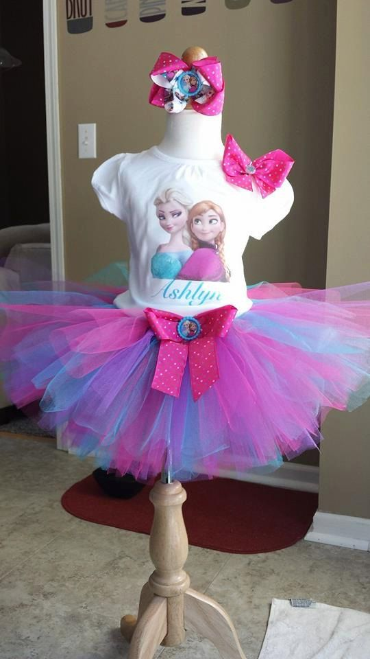 Frozen tutu outfit Elsa and Anna tutu outfit by MissTutuCute2 ...