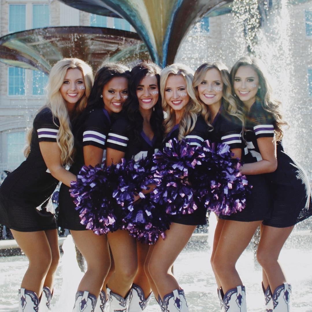 369 Likes 11 Comments Elizabeth Kunka Elizabeth Kunka On Instagram Nothing But Love For Brunettes And Basebal Tcu Cheerleaders Cheers Photo Dance Teams