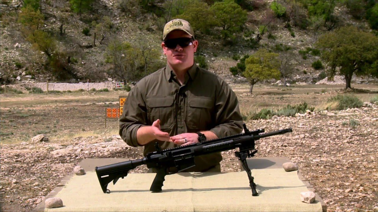 American Rifleman Television Review - Ruger 762 Rifle