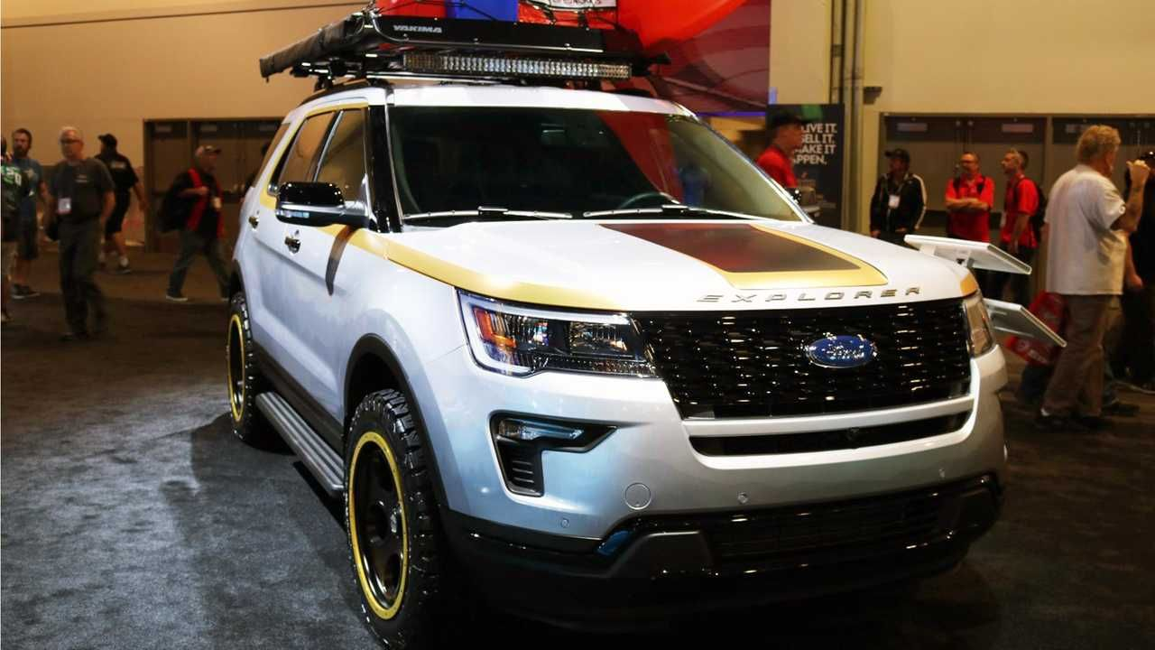 Ford Bringing Five Customized Utility Concepts To Sema Update Luxury Suv Ford Bring It On