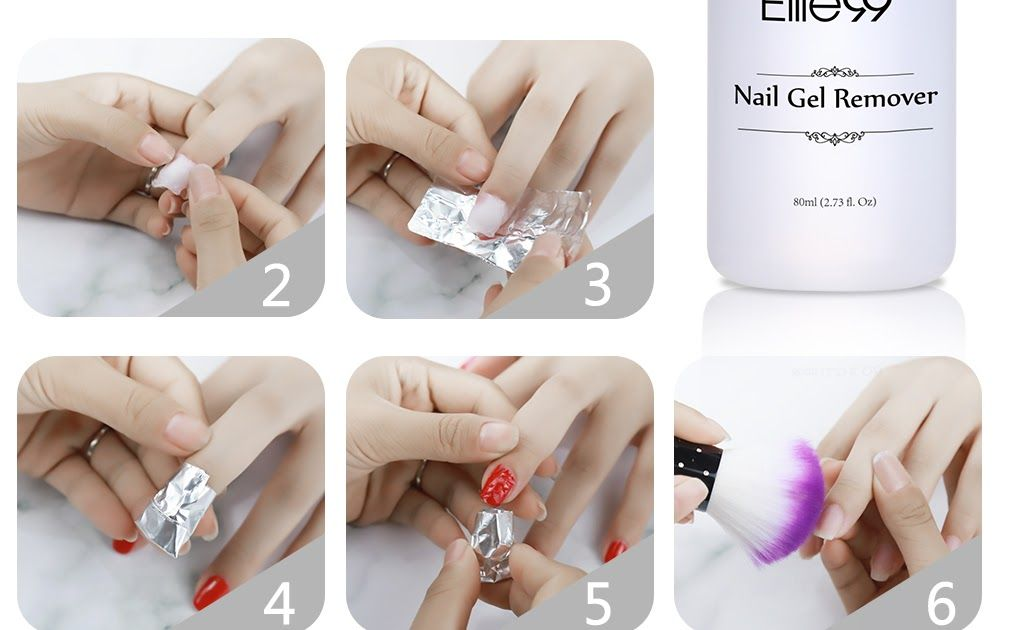 Best Price Elite99 High Quality 80ml Clean Nail Gel Remover Art Tools Nail Polish Remover Sticky Liquid Use With Nail Tin Gel Remover Nail Brushes Clean Nails