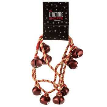 Red Jingle Bell Jute Garland Hobby Lobby Christmas Decorations
