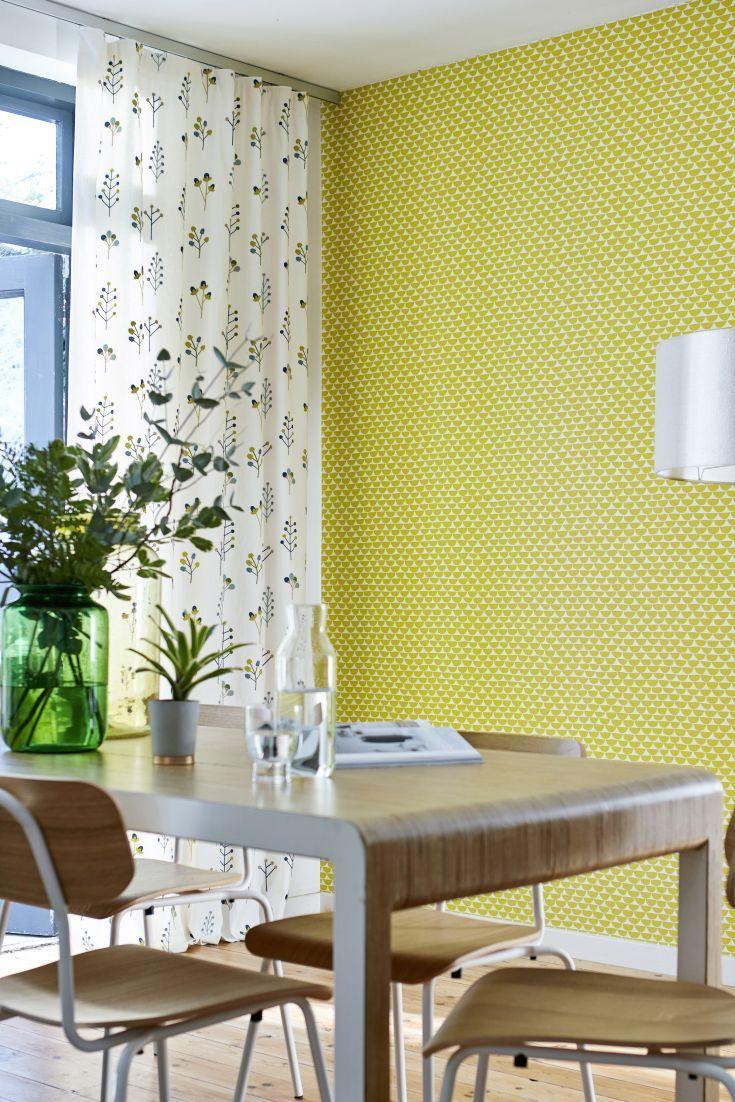 Kielo, Wallpaper, 111532 | Mid century modern wallpaper, Scion and ...