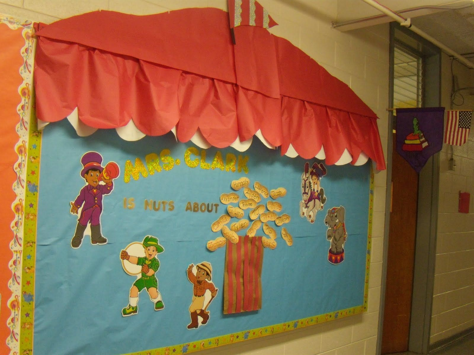 Circus Classroom Decoration : Circus carnival theme bulletin boards sweet ps class