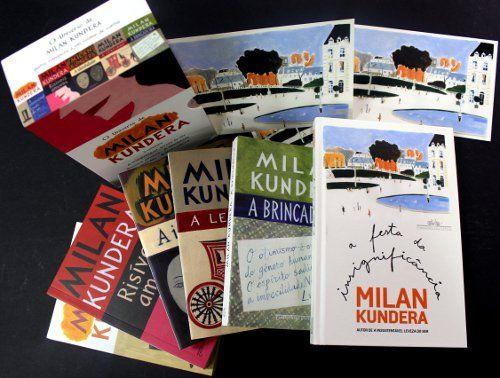 Box Milan Kundera - Companhia das Letras
