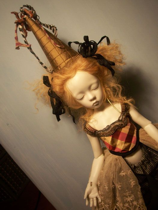 OOAK ball jointed  dolls by marbled halls