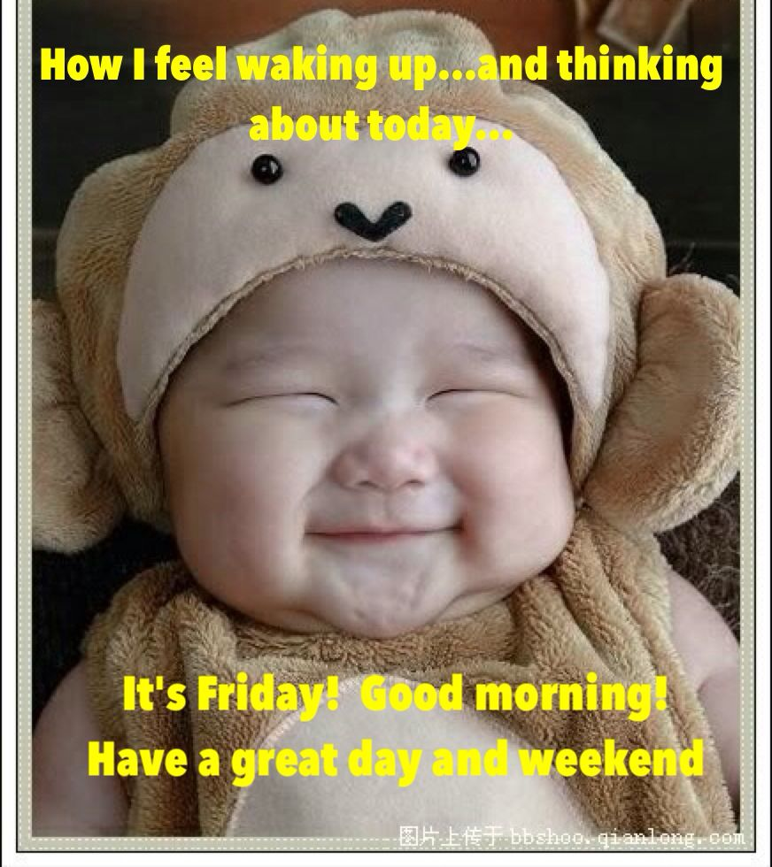 cute baby saying good morning humour pinterest humor