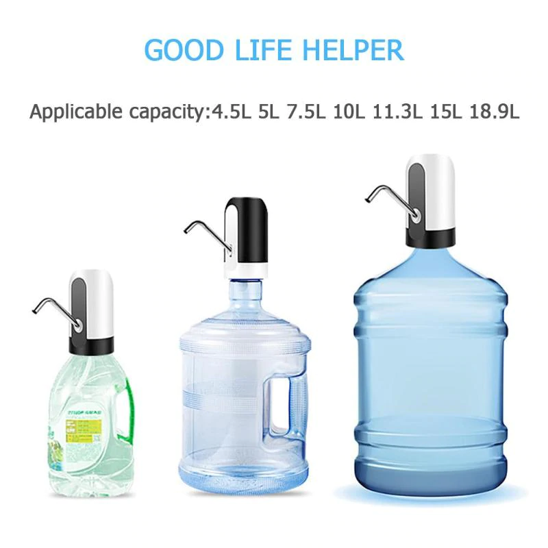 Electric Water Dispenser Portable Automatic Electric Water Pump Drinking Bottle Switch Usb Rechargeable Water Pump Mach Electric Water Pump Water Bottle Bottle