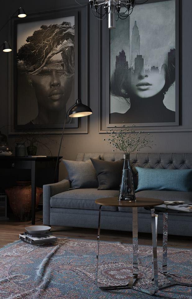 Grote kunst  Huis inrichting  Ideen voor thuisdecoratie