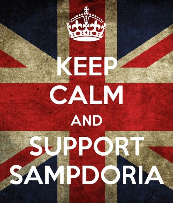 Keep Calm #Sampdoria