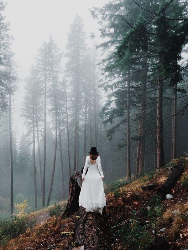 Forest wedding photo | OWNTHELIGHT | VSCO