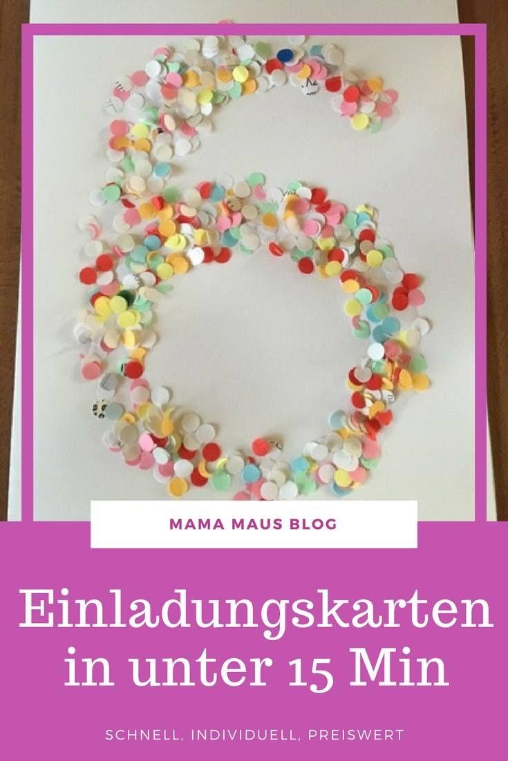 Schnelle Einladungskarten Zum 6 Geburtstag Der Kaisermotte Alles Einladungskarte...