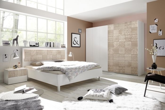 ▷ 1001 + tendances clés pour la peinture chambre adulte moderne en - Peindre Fenetre Bois Interieur